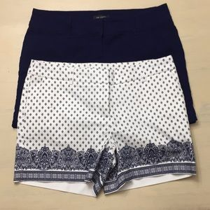 A set of shorts